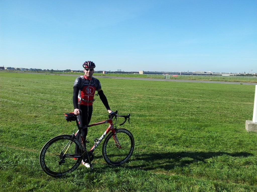 Eine Runde am Flughafen Tempelhof