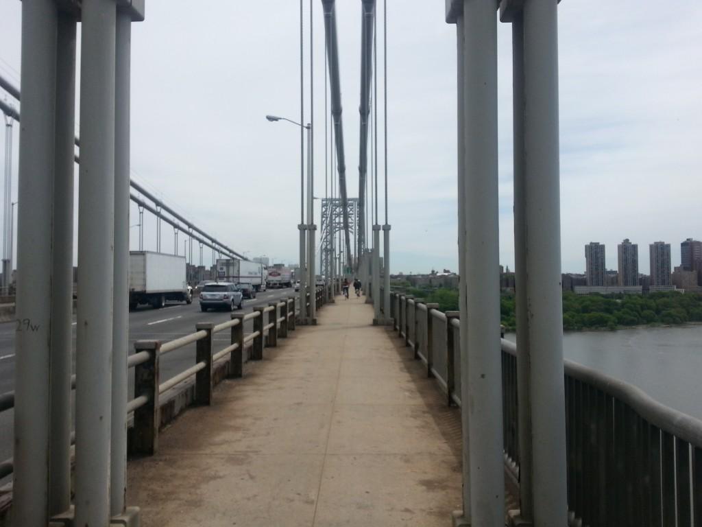Tag 17 - NYC George Washington Bridge 3