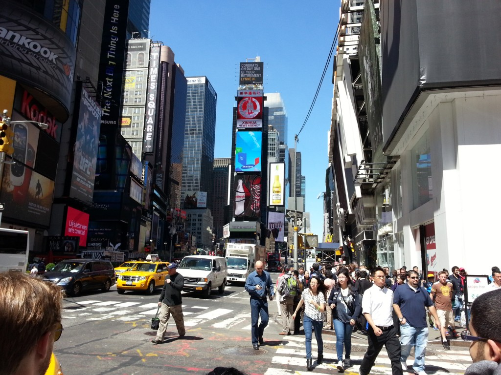 Tag 17 - NYC Time Square 1